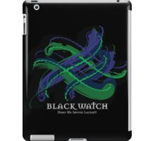 Black Watch Tartan Twist iPad Case/Skin