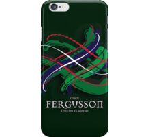 Fergusson Tartan Twist iPhone Case/Skin