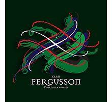 Fergusson Tartan Twist Photographic Print