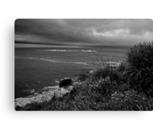 Storms Over Pancake Island Canvas Print