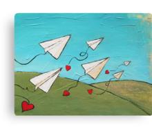 Love Notes Canvas Print