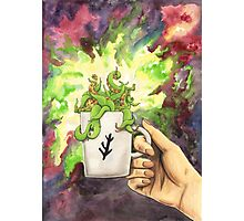 Eldritch In Your Cup Photographic Print