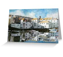 Falmouth Waterfront, Cornwall Greeting Card