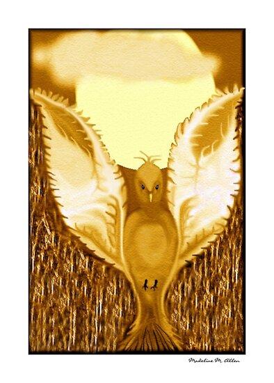 Ye Gilded Dove by Madeline M  Allen