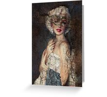 Marilyn Venice Greeting Card