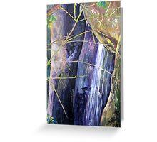 Falls at St Bernards Mt.Tamborine Greeting Card