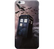 Flying Blue Box In Space Hoodie / T-shirt iPhone Case/Skin