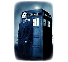 doctor smith tee Tardis Hoodie / T-shirt Photographic Print