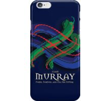 Murray Tartan Twist iPhone Case/Skin