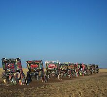 Cadillac Ranch by Moninne Hardie