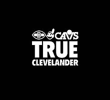 True Clevelander - Black  by The RealDealBeal