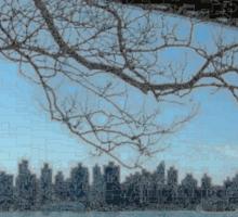 New York Triborough Bridge  Sticker