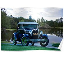 1931 Ford Model A 'Rumble Seat' Roadster 1 Poster