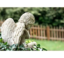 Angel in the Ivy Photographic Print