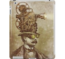 The Projectionist (sepia option) iPad Case/Skin