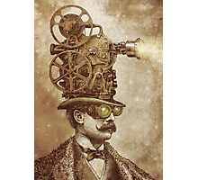 The Projectionist (sepia option) Photographic Print