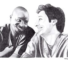 Scrubs - Turk & JD by vknight1989