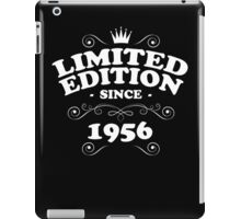 Limited edition since 1956 iPad Case/Skin
