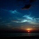 blue sunset by dominiquelandau