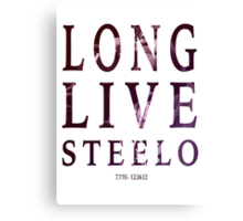 Capital Steez - Long Live Steelo Canvas Print