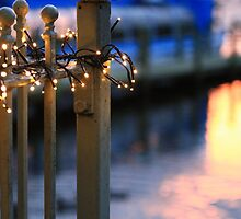Pier Lights  by rennaisance