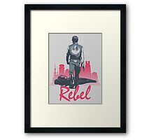 Rebel (light version) Framed Print
