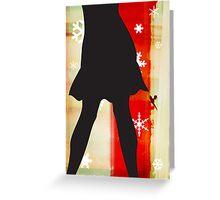 Sexy Christmas Greeting Card