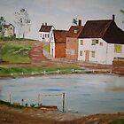 Village Pond by Debra Lohrere
