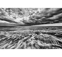 Stormy Sea Photographic Print