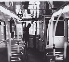Bus Darkroom Print by rshannonart