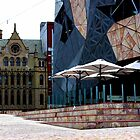 Fed Square Sunday Afternoon by Leia