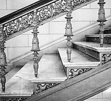Schwerin Palace staircase by novopics