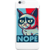 Nope Cat iPhone Case/Skin