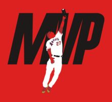 """Mike Trout """"MVP"""" T-Shirt"""