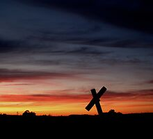 Tombstone Sunset by Scott Ruhs