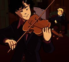 Violin by vellium