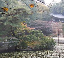 Korean Palace Seoul by GarthS