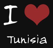I love Heart Tunisia Kids Clothes