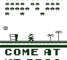 Space Invaders In The Mushroom Kingdom by helme