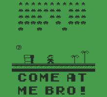 Space Invaders In The Mushroom Kingdom T-Shirt