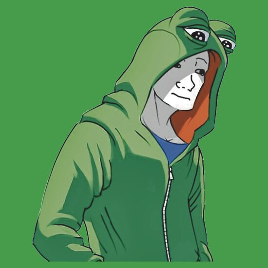 Guy in pepe jacket quot t shirts amp hoodies by joedaeskimo redbubble