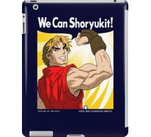 We Can Shoryukit! iPad Case/Skin