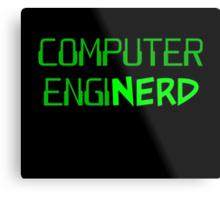 Computer Engineer Enginerd Metal Print