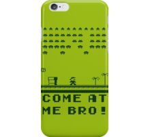 Space Invaders In The Mushroom Kingdom iPhone Case/Skin