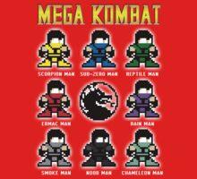 Mega Kombat Kids Clothes