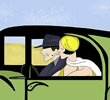 Bonnie & Clyde by Itsaliveanimate