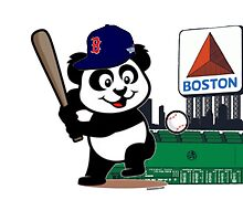 "Pablo Sandoval ""Panda playing baseball"" by jdsully20"