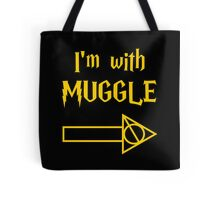 I'm with Muggle Tote Bag