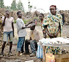 Refugee Camp, Goma by Bryn