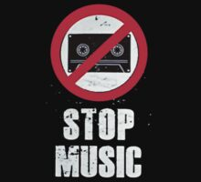 Stop Music 1 Kids Clothes